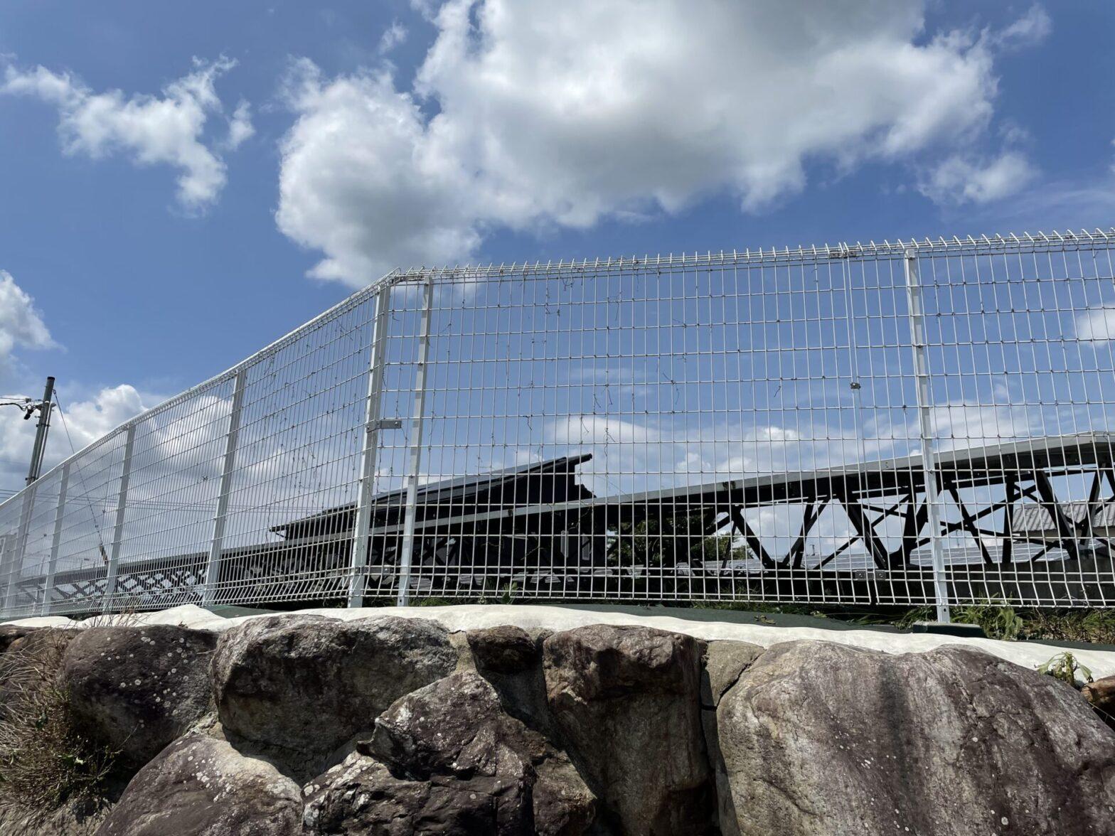 三重県名張市太陽光発電所除草作業
