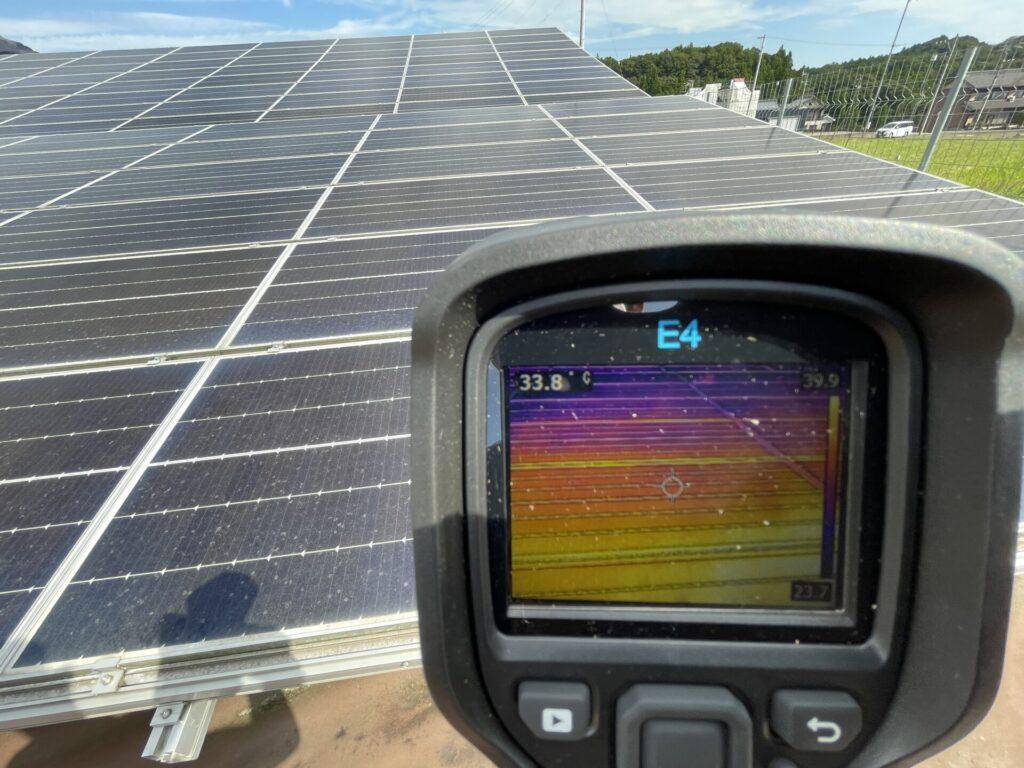 三重県いなべ市大安町太陽光発電所除草作業