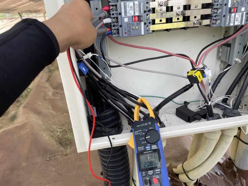 三重県多気郡太陽光発電所4区画除草作業